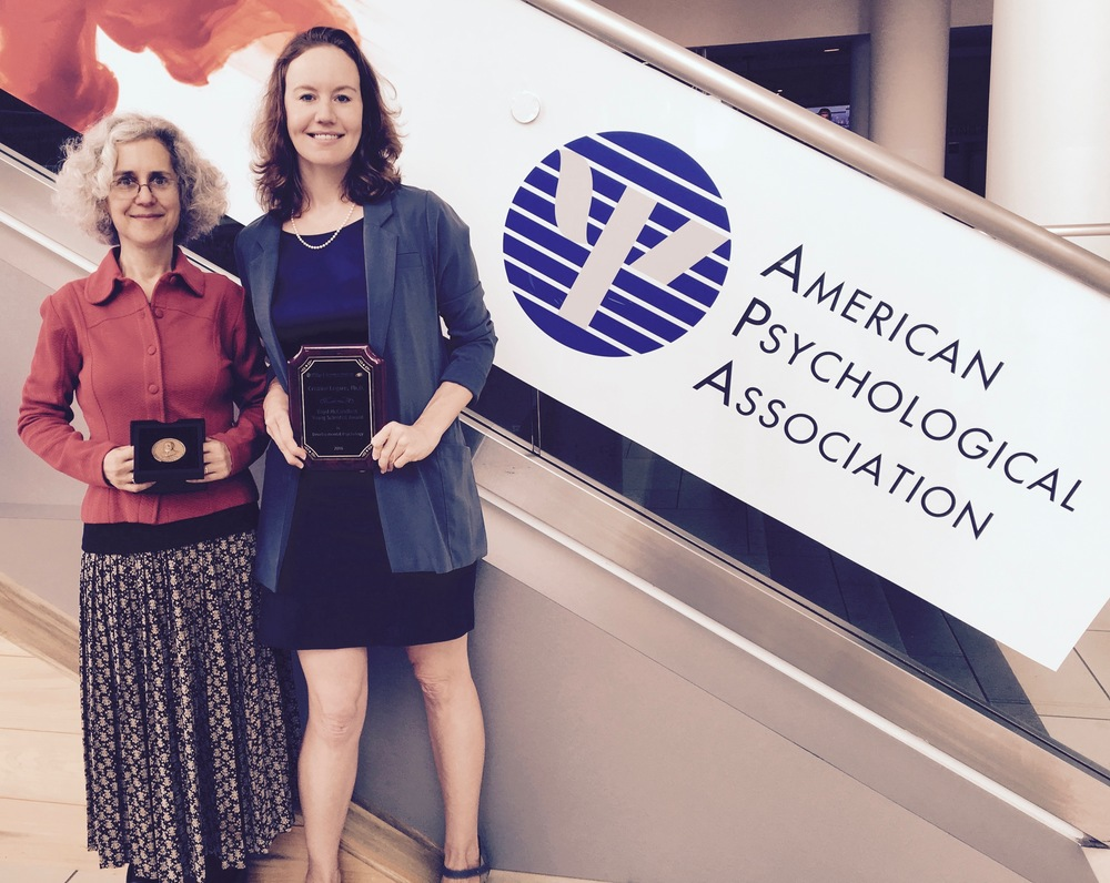 APA Boyd McCandless Award 2016