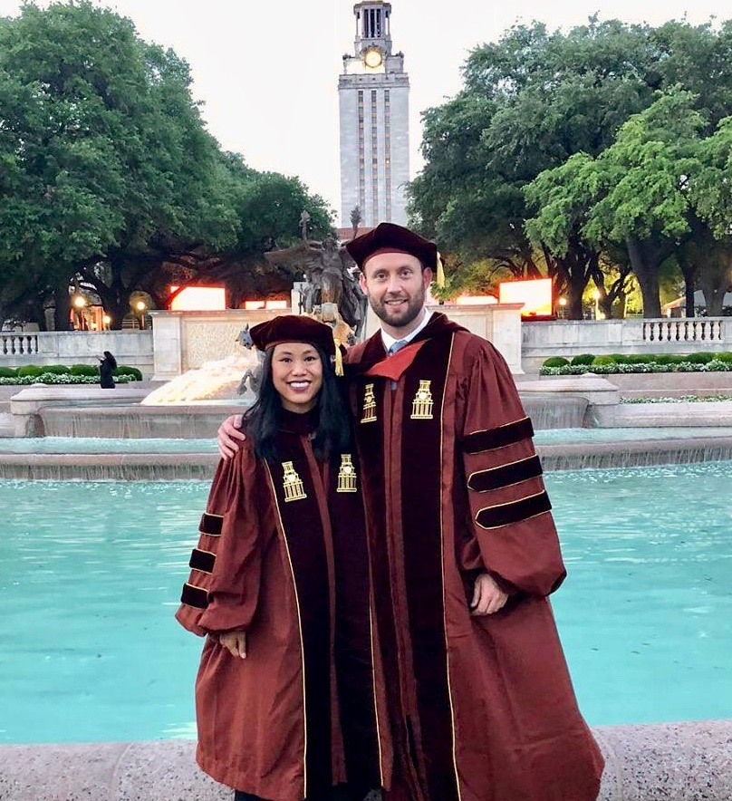 Dr. Nicole Wen and Dr. Justin Busch