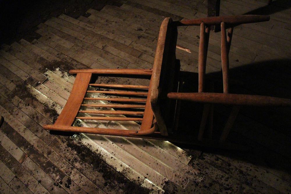 kiln cast glass floor boards
