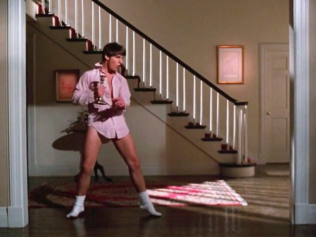 "Tom Cruise in ""Risky Business"""
