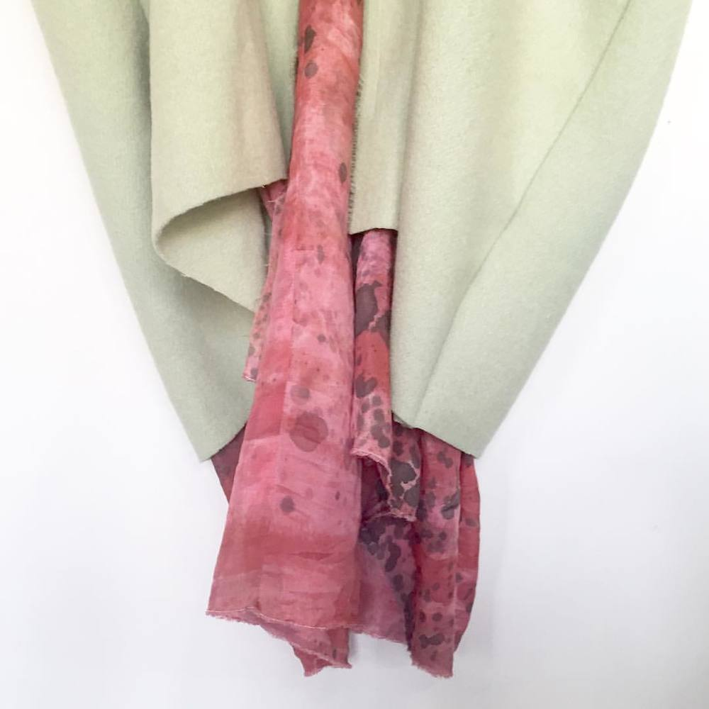 another #sneakpeek at the #envision collection!  #mnfw #handdyed #mplsdesign #aw15