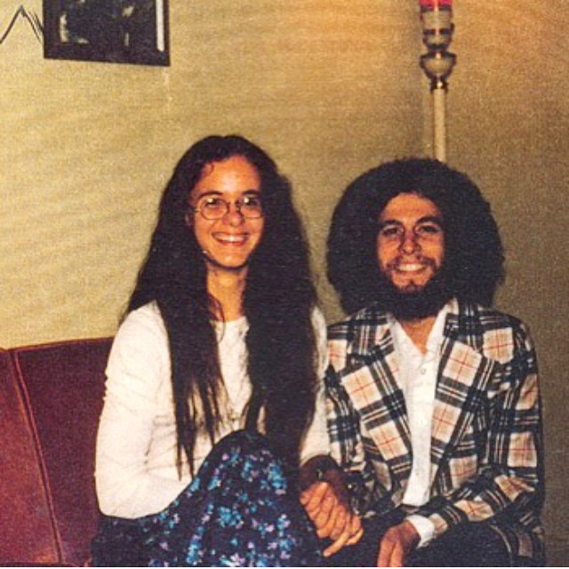 thanks to my brother @micahmonkey_studios for this awesome #tbt shot of our hippie parents! @ninarg1