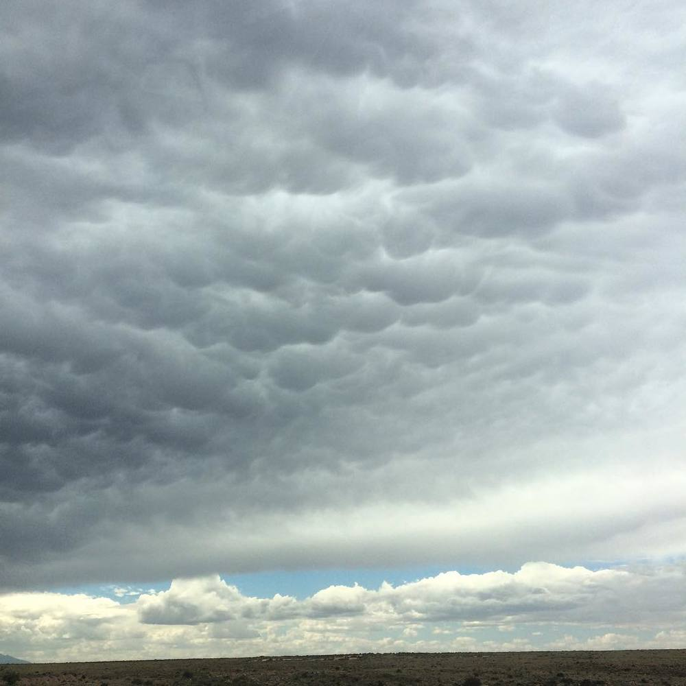 storm clouds near flagstaff, AZ #stormclouds #arizona
