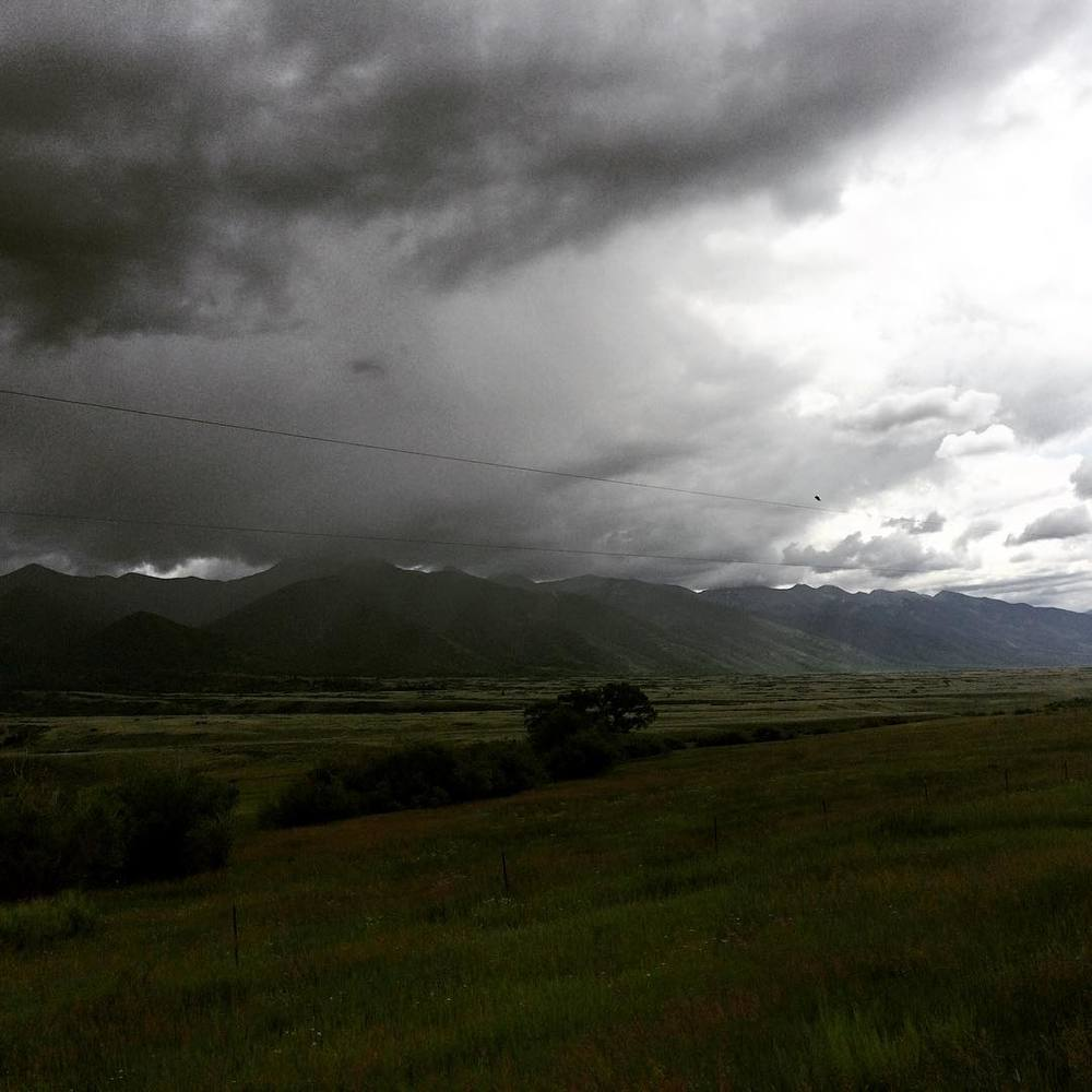 #stormclouds #wildwildwest #roadtrip