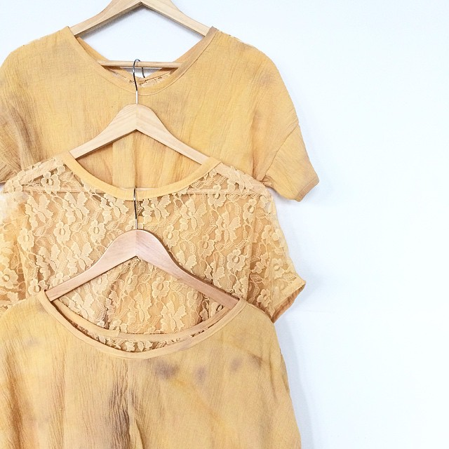 sneak peak at the new ACG VINTAGE line exclusively made for @mothoddities. I'm using Vintage, Repurposed, and select hand-dyed fabrics for this line. #collaboration #slowfashion #handdyed #repurposed