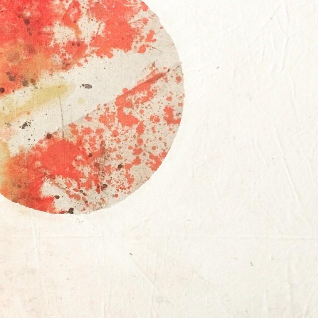 #WATERCITY #artopening #showroommpls #moon #handdyed #mixedmedia #textile