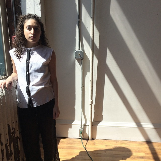 some pretty light from our shoot yesterday \\ #nofilter #lookbook #ss15 #bw #buttonup