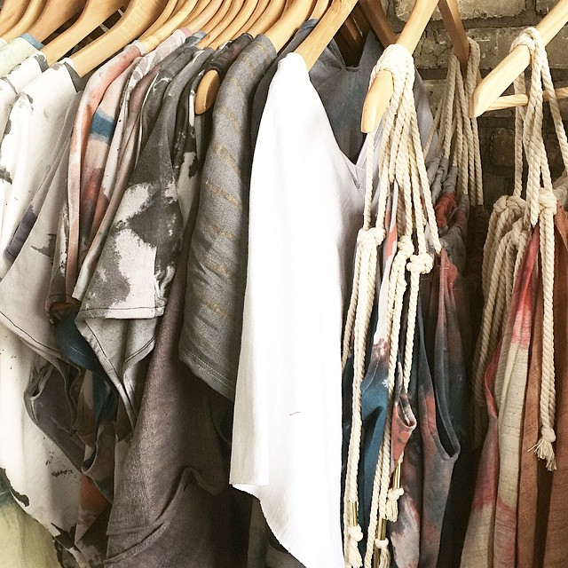 I'm running out of coat hangers! #somuchclothes #trunkshow #MPLSSERIES #acgmpls