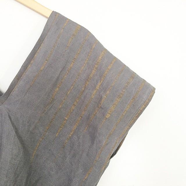 Rain Lake crop caftan blouse #mplsfashion #mplsdesign #handdyed #handpaintedcloth #greyandgold ☁️☔️⛅️