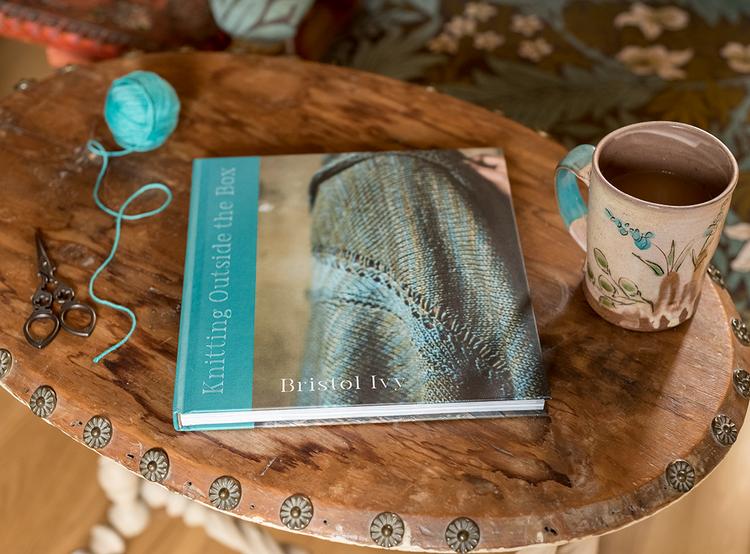 Alanna Nelson knits Bristol Ivy