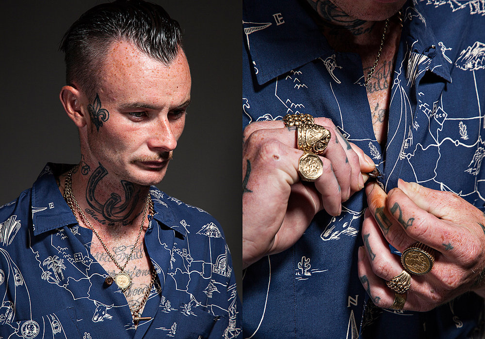 Ralph Lauren RRL Portraits for Philip Browne by Kev Foster