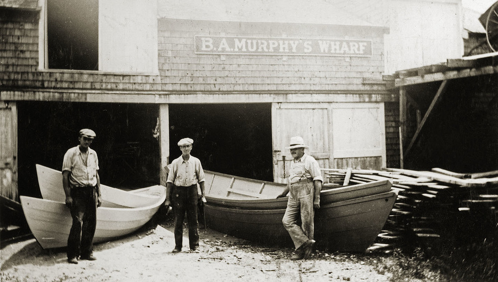 Photo (circa 1940) courtesy of the Maine Maritime Museum