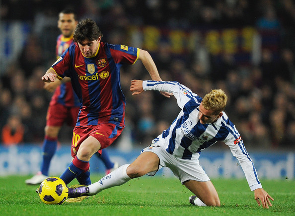 Reckon Lionel Messi developed his warp speed, sublime dribbling skills doing running drills? No way. **