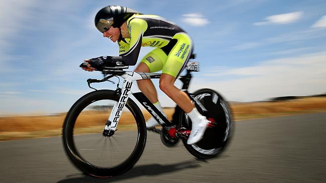 2014 Australian National Women's Time Trial Champion, Felicity Wardlaw *