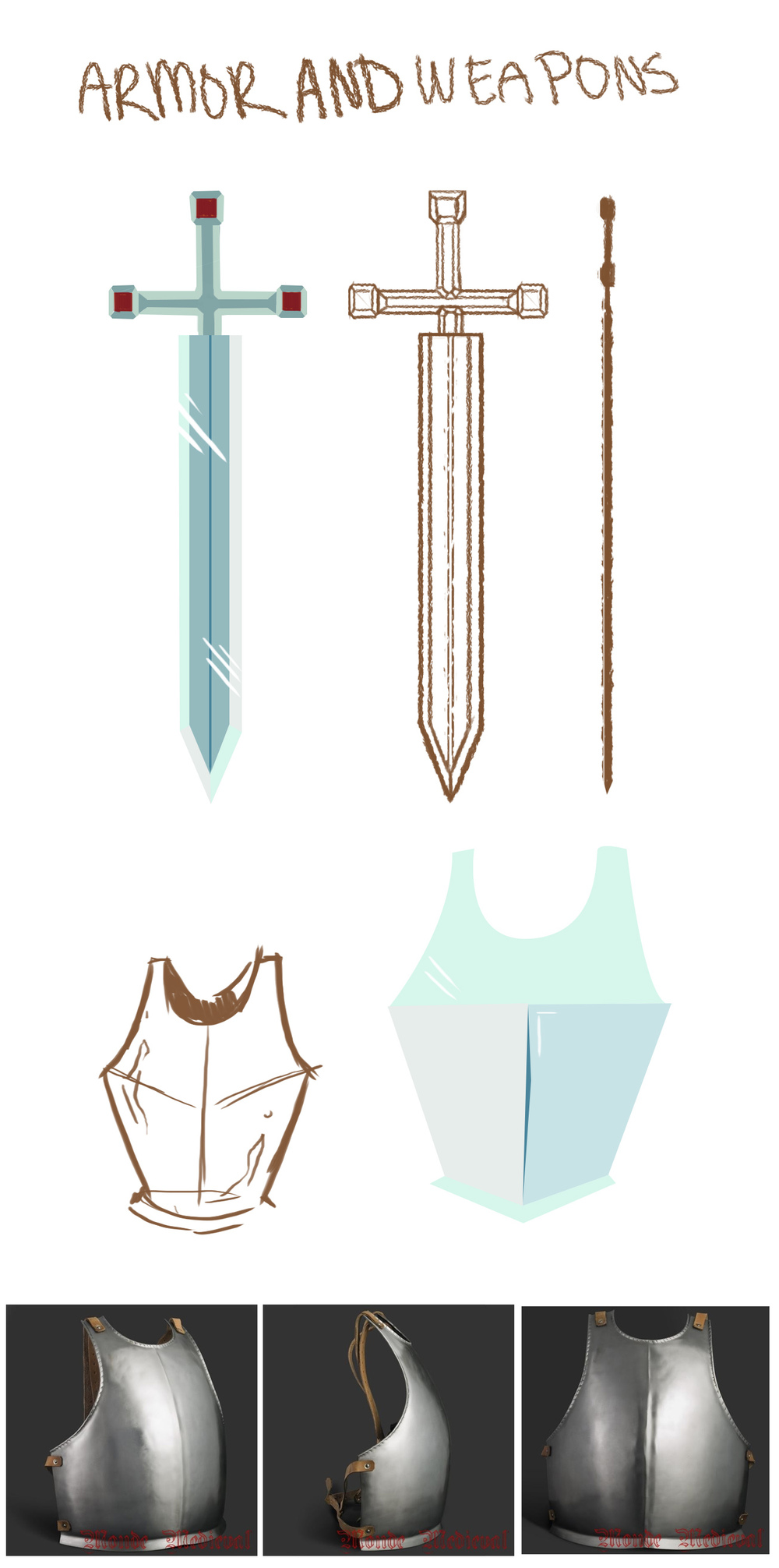 Armor and Sword Concept