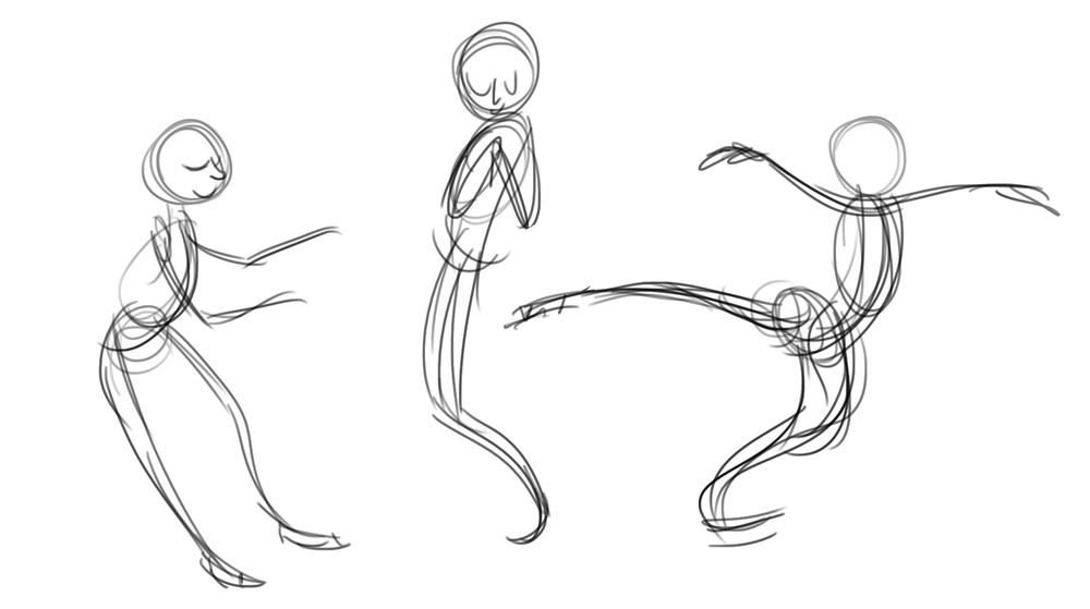 Quick Gestures based off of reference video
