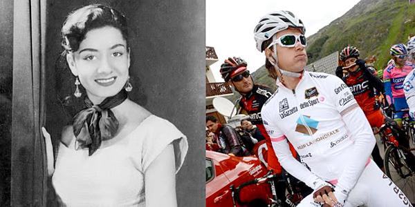 """Left: Helenita """"La Ronca de Oro"""" Vargas. Right: Carlos """"La Ronca"""" Betancur."""