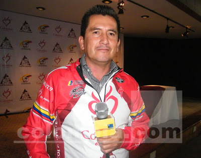 Herrera in 2009. Photo: Colombia.com