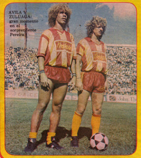I could not find an image of Herrera wearing the Freskola jersey, but I found this. The soda company also sponsored the Pereira soccer team in the 80s.