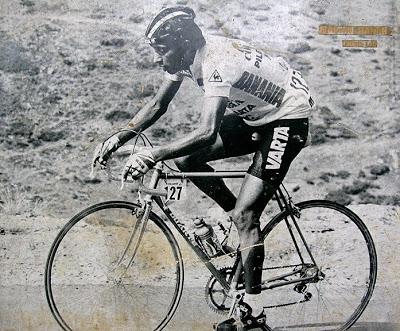 Martín Ramírez won the Dauphiné in 1984 riding a Duarte bike.