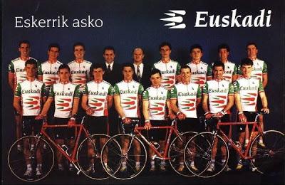 1994 Euskadi-Petrnor Team.