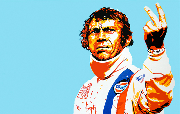 SMC kit color inspiration: 1970s Gulf Racing Team as rocked by Michael Delaney (Steve McQueen) in Le Mans.