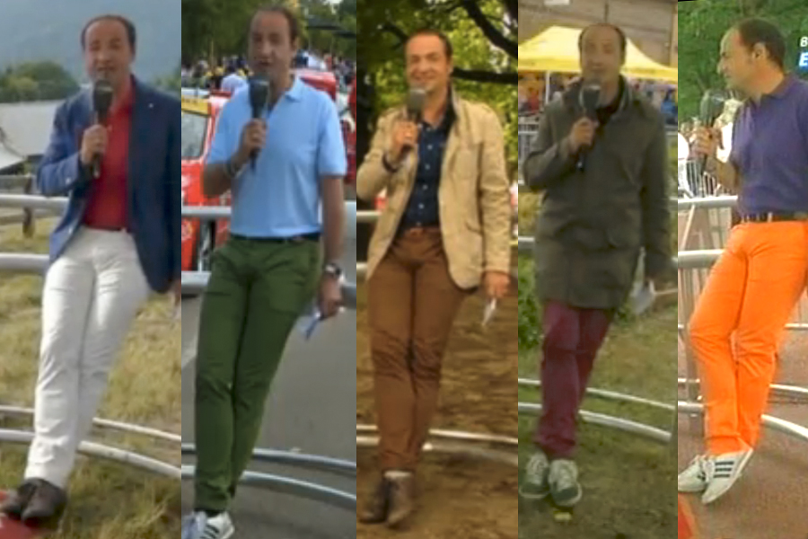 Bernabino's pants.