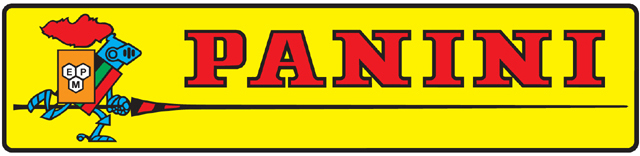 The unmistakable Panini logo so many of us grew up loving.