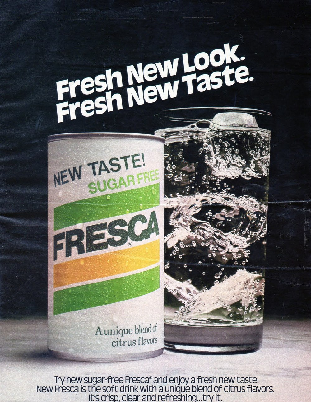 Fresca ad from 1980.