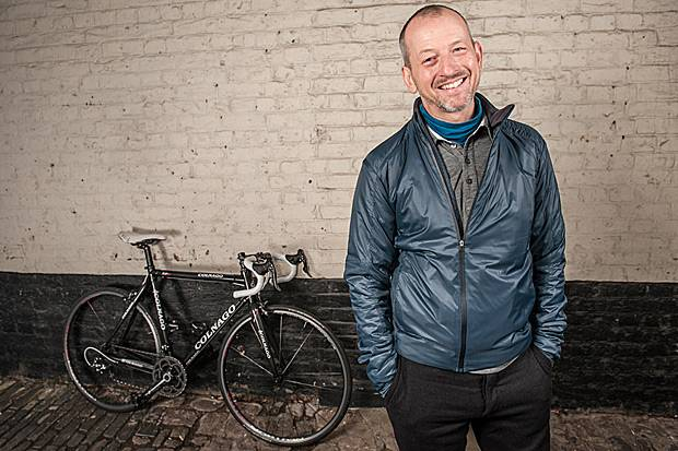 Rapha founder Simon Mottram.