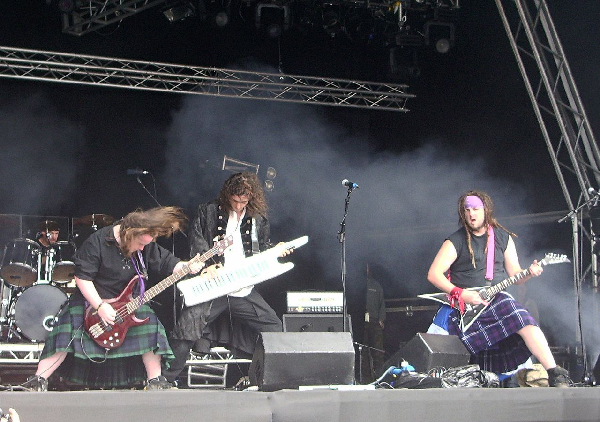Kings of Pirate Metal: Alestorm from Scotland.