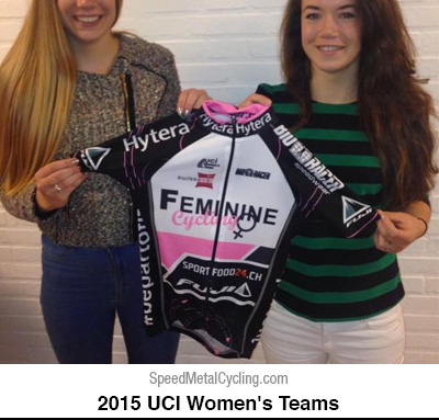 Feminine Cycling Team