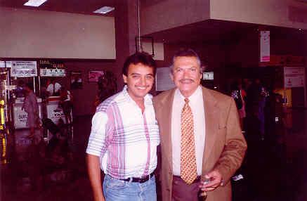 """Aquí con Don Eulalio González """"Piporro"""", uno de mis cómicos favoritos y un ser humano extraordinario."""