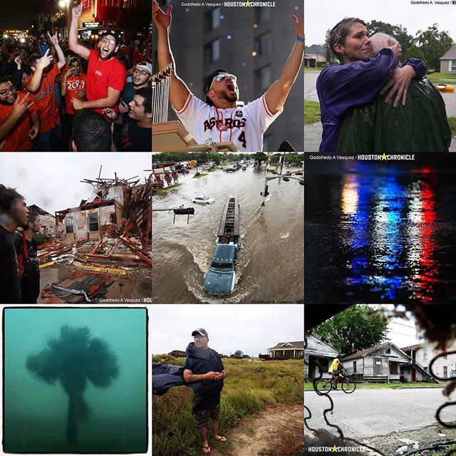 2017 was a tumultuous year, both professionally and personally. In it, I moved cross country to cover breaking news in the fourth largest city in the country for the Houston Chronicle, then came the chaos that Harvey brought, and was followed by the excitement this city experienced when its Houston Astros won the title. Never in my life have I been as emotionally, mentally, and physically exhausted as I have this year, so as I'm writing this I can't help feeling thankful for the people in my circle that have been there for me. Ready use the lessons learned to kick ass in 2018!