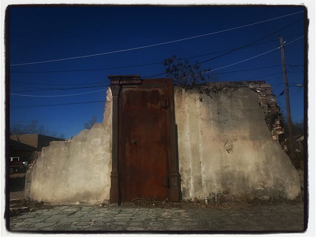 Randomly found this vault door while walking around Tomball, Texas. #texas #houston #tomball
