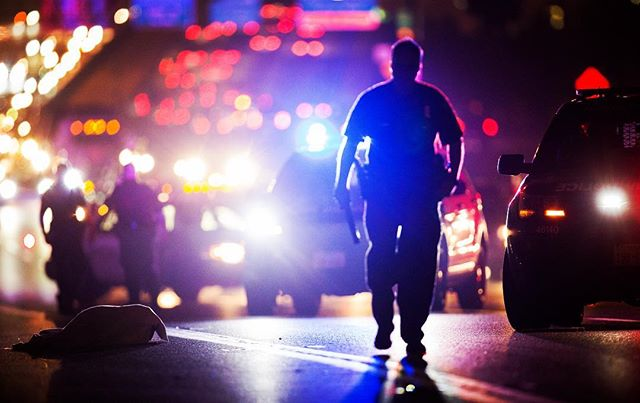 A pedestrian was fatally struck by a vehicle on the southbound lanes of I-45 February 20, 2018. #Houston #hounews #houtraffic