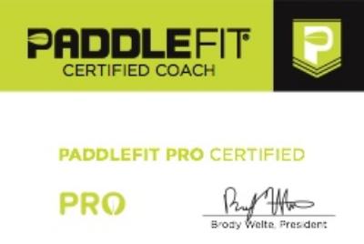 PaddleFit Certificate