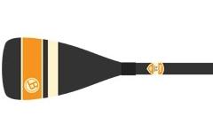 BOGA - Classic Standard (Blue Stipe) -Fibreglass Blade, Carbon ShaftFixed Length - $269Classic Carbon (Orange Stripe) - Carbon Blade, Carbon ShaftFixed Length - $395
