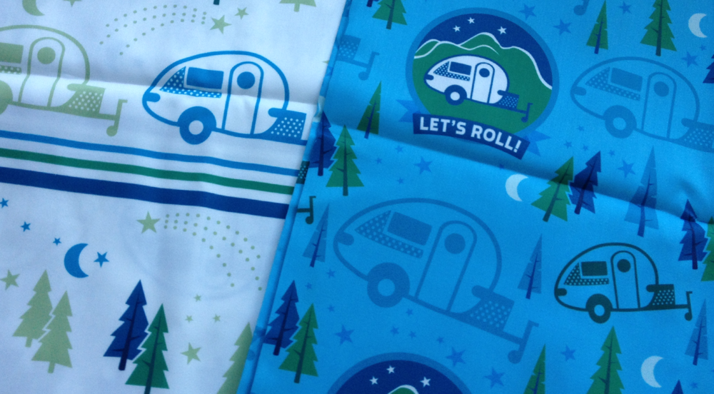 let's roll! fabric