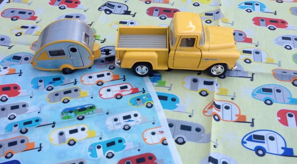 teardrop trailer fabric