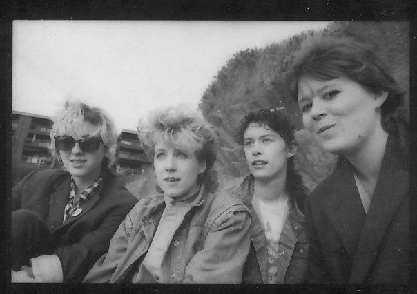 The Madeleines    From Left: Madeline McCambridge, Terri Moeller, Madeleine Lewis, Cat Duke