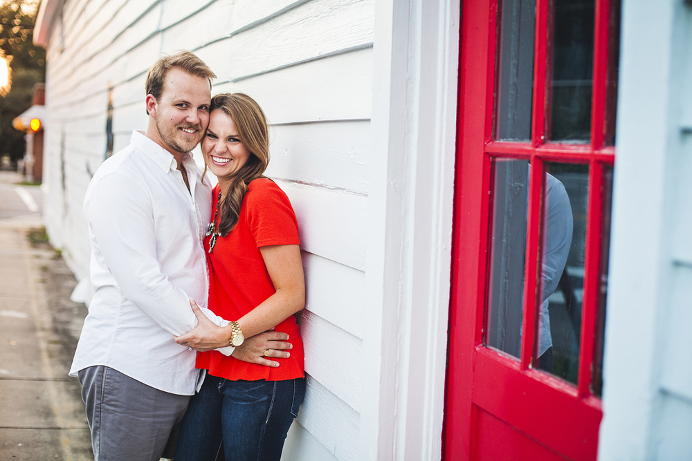Engagement Photography Downtown Wilmington