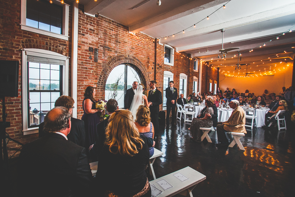 Wilmington NC River Room Wedding