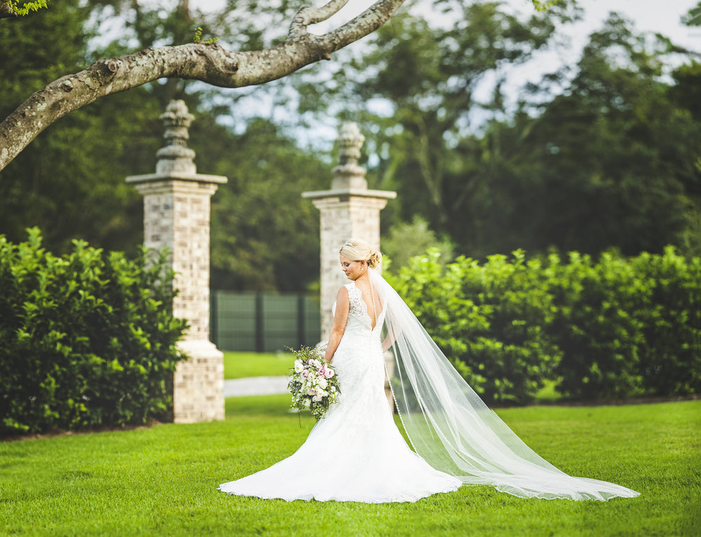 Bridal Portraits session Wilmington NC Photographers