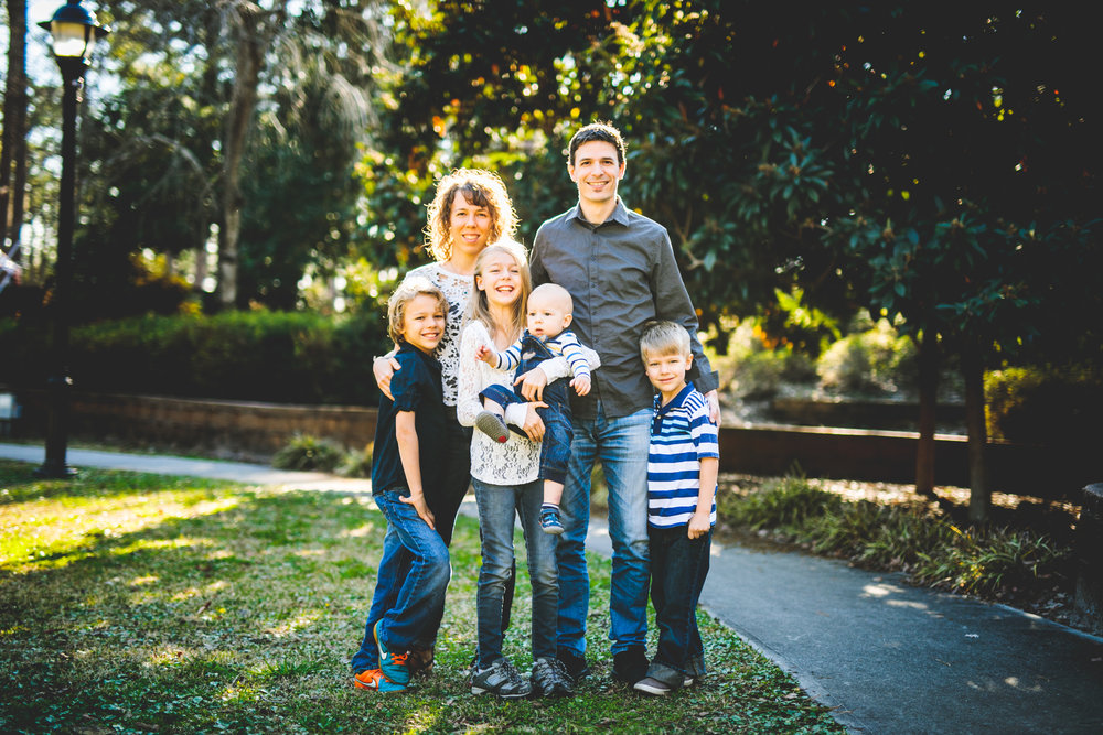 Family Portrait Photographer Wilmington NC