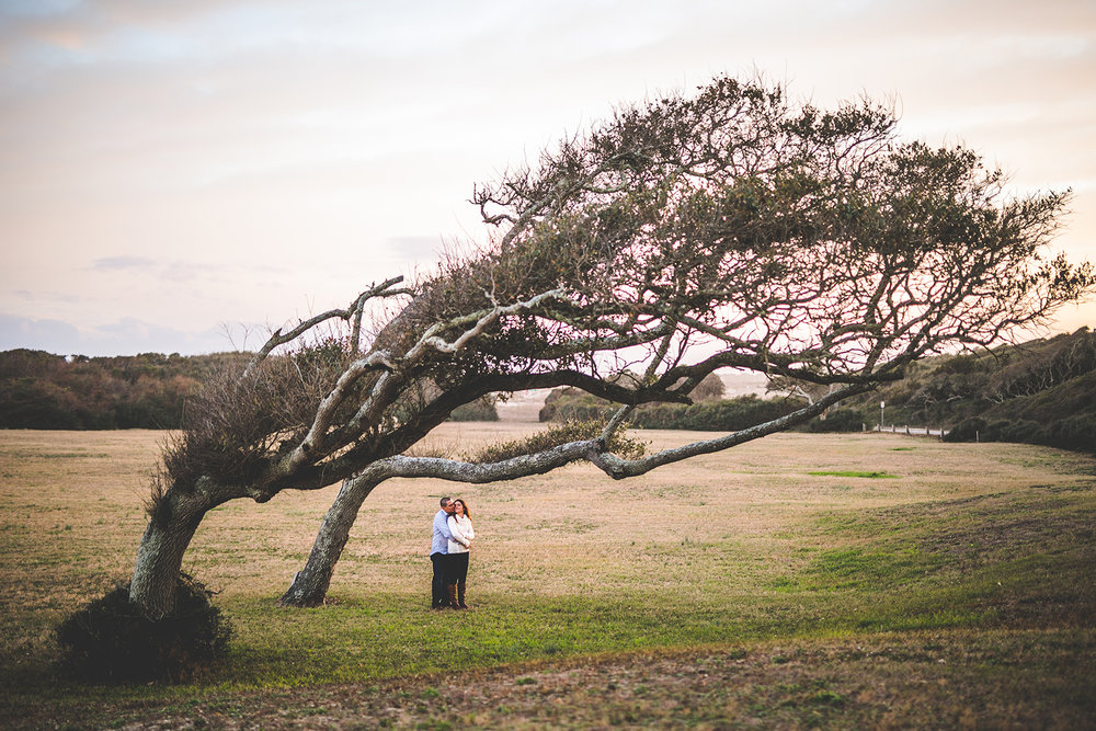 Greenfield Lake & Fort Fisher Engagement and Wedding Photographers