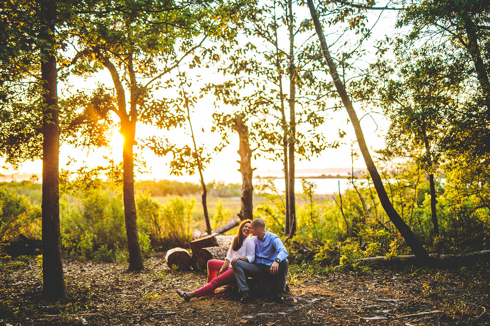 Carolina Beach State Park Engagement Photos
