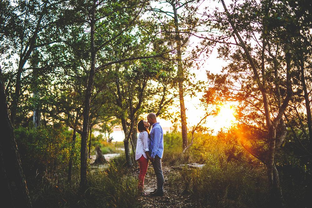Carolina Beach State Park Engagement Photos