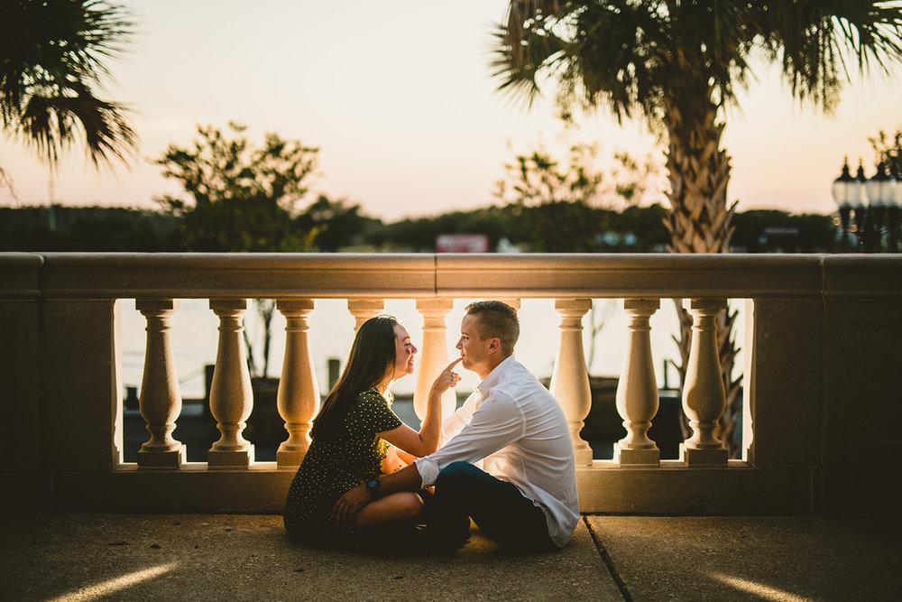 Downtown Wilmington Couples Portraits