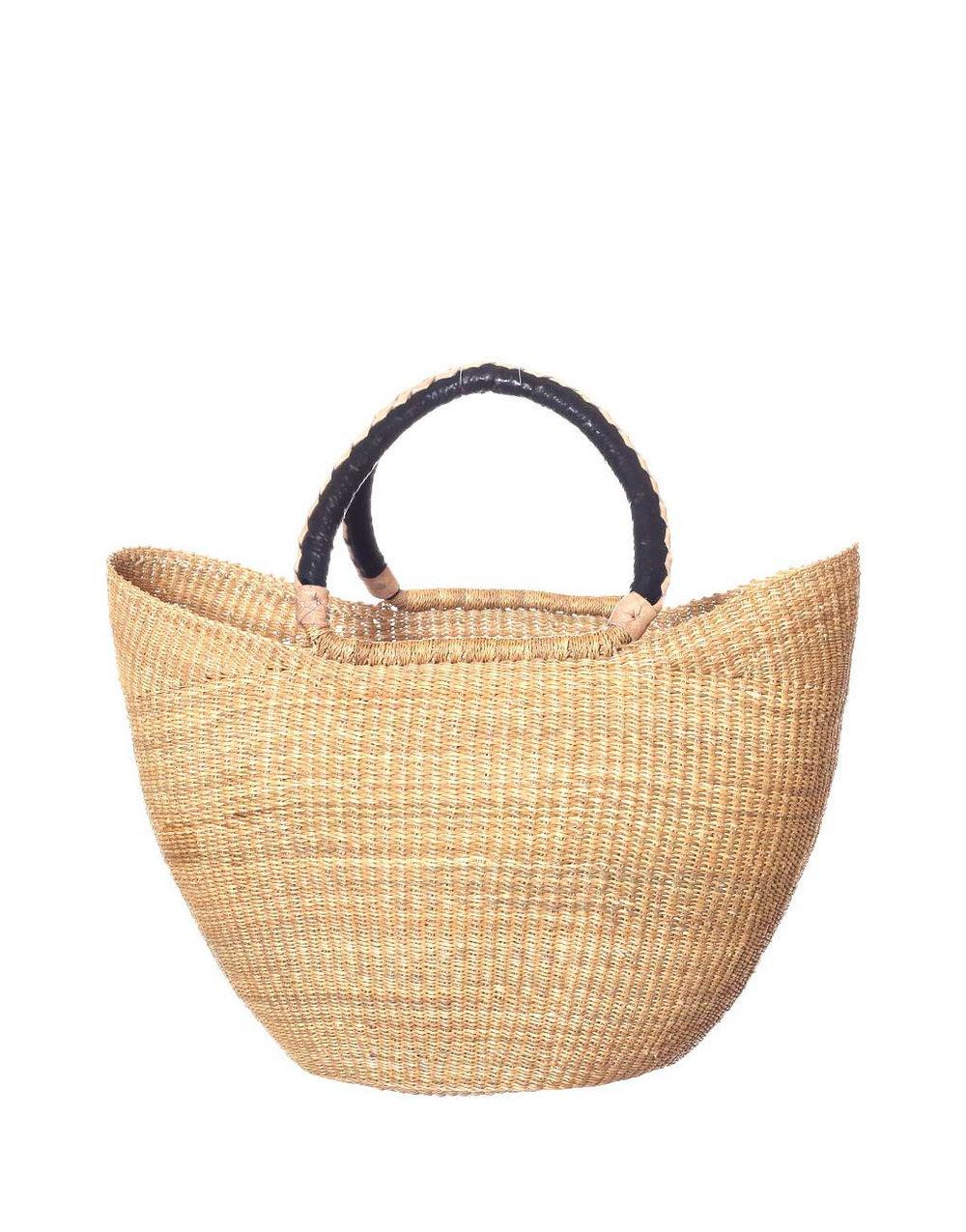 Handmade Woven Elephant Grass Market Basket   $64 |Little Market